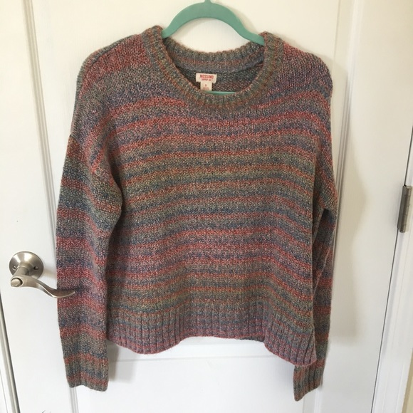 Multicolored Sweater Target (Small)